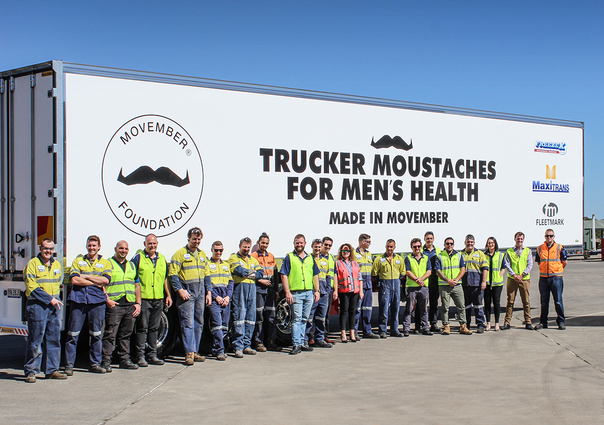 MaxiTRANS Supporting Movember 2019