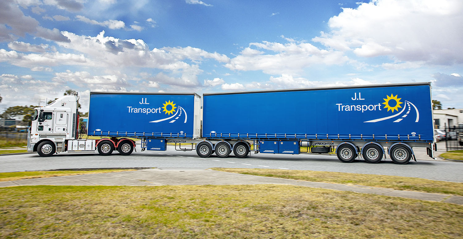 JL Transport Freighter B-Double Semi Trailer