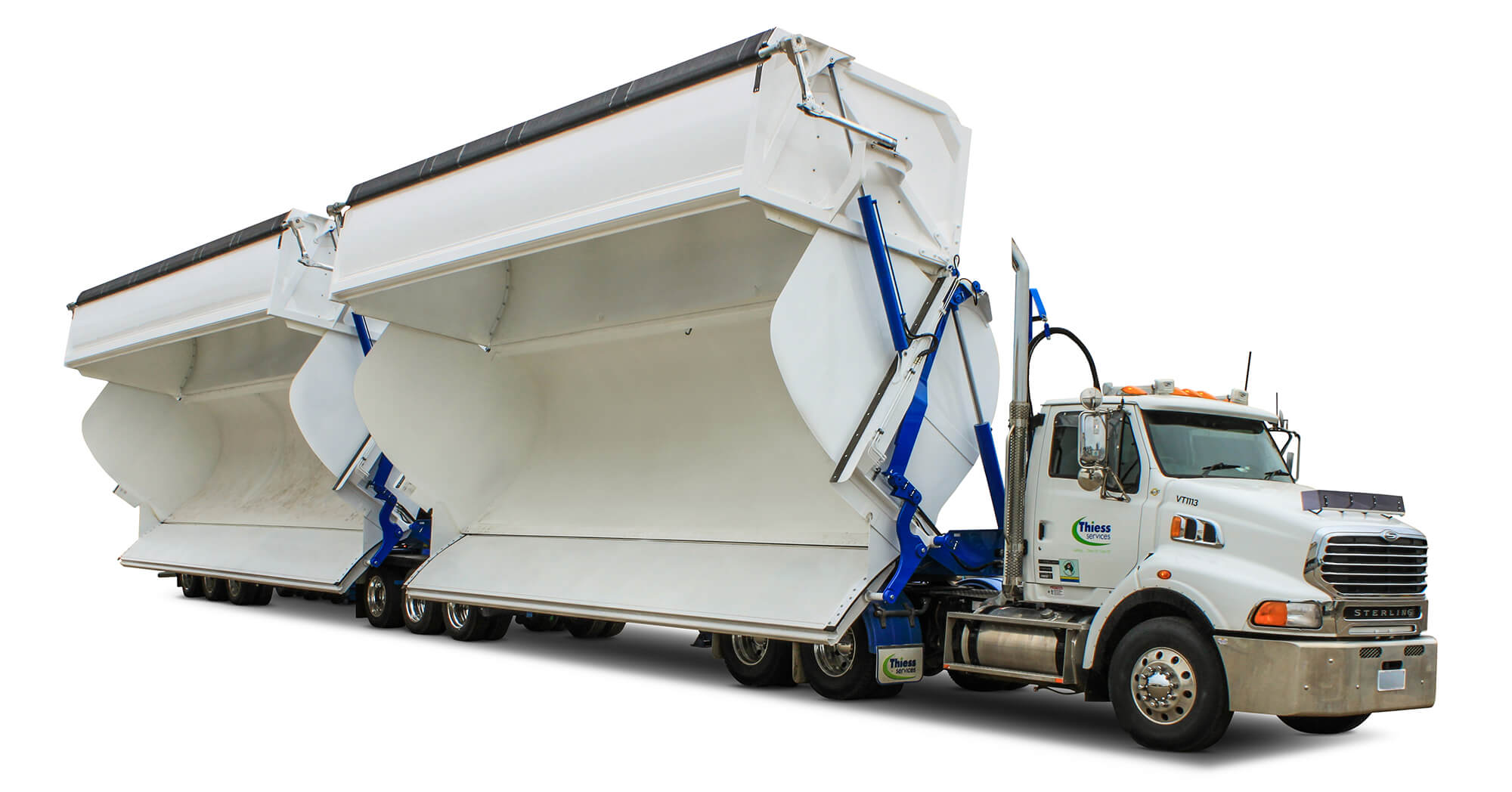 AZMEB High Volume Side Tipper