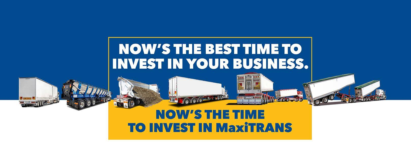 Invest Government incentives new semi trailers